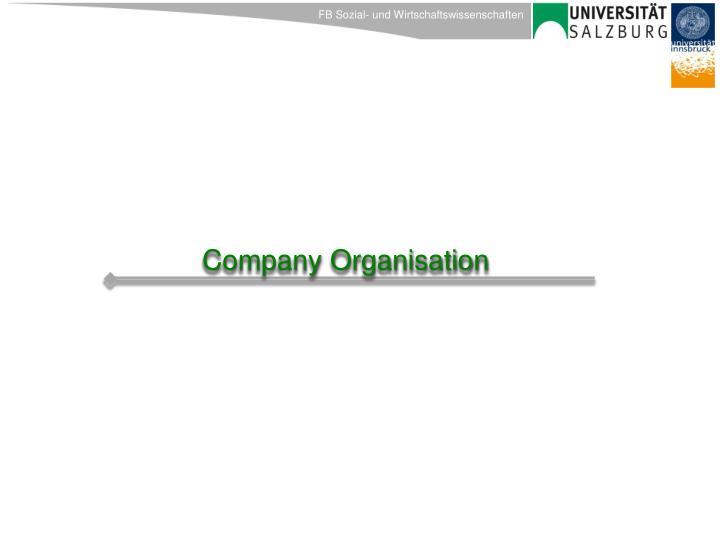 Company Organisation