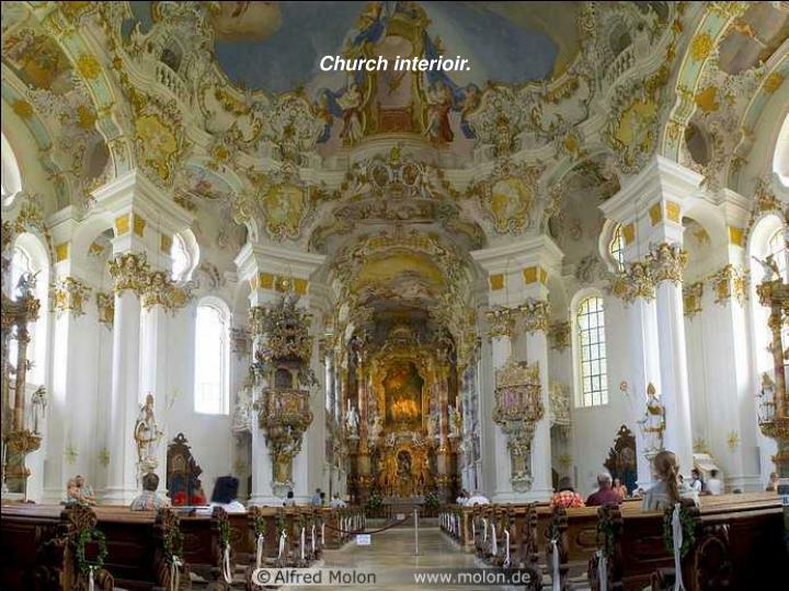 Church interioir.