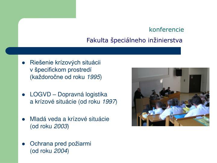 konferencie