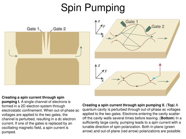 Spin Pumping