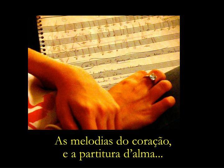 As melodias do coração,