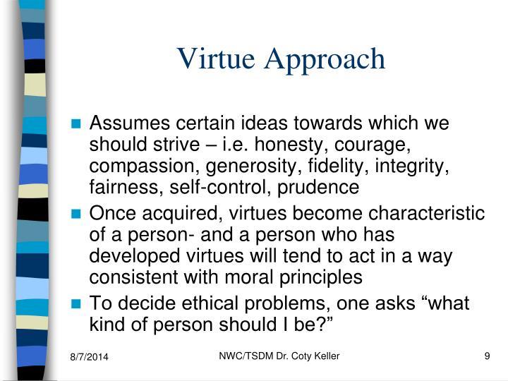 Virtue Approach