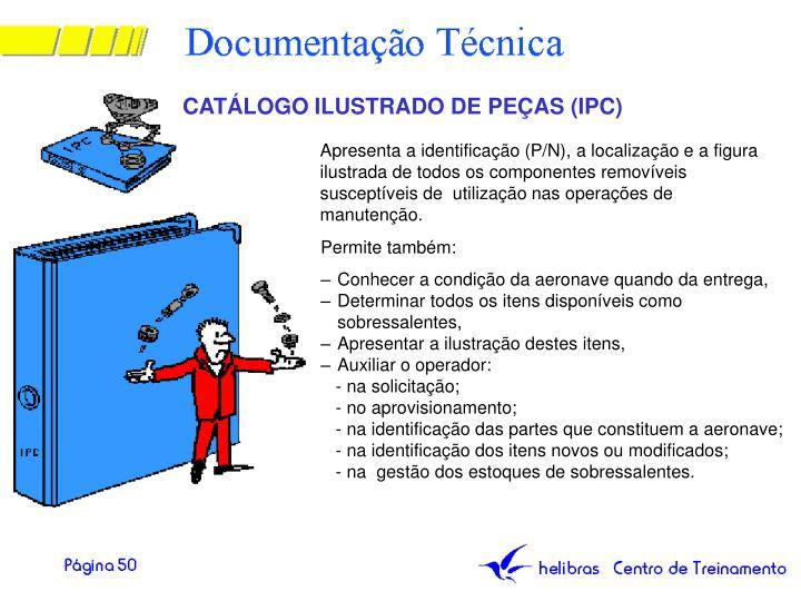 CATÁLOGO ILUSTRADO DE PEÇAS (IPC)