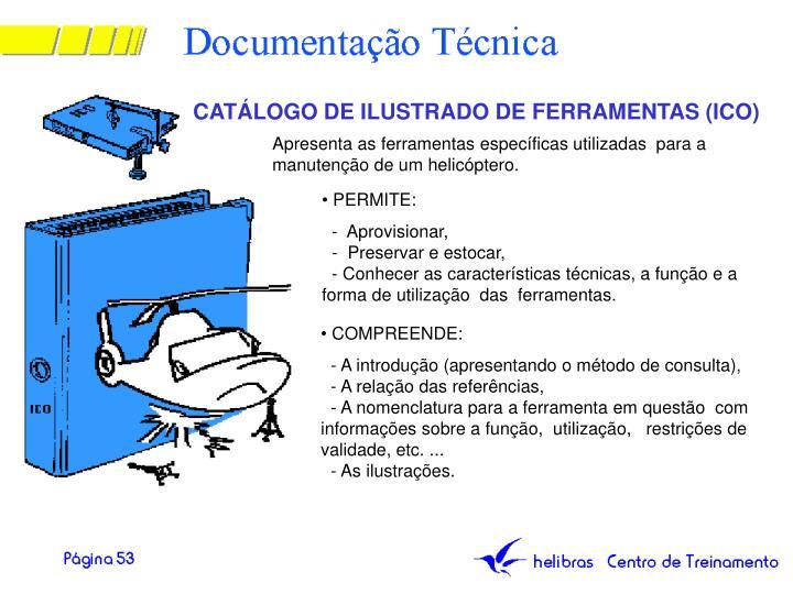 CATÁLOGO DE ILUSTRADO DE FERRAMENTAS (ICO)
