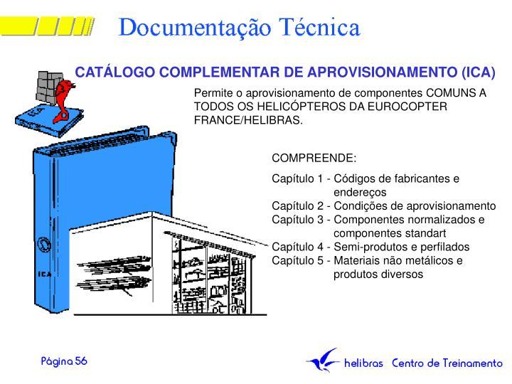 CATÁLOGO COMPLEMENTAR DE APROVISIONAMENTO (ICA)