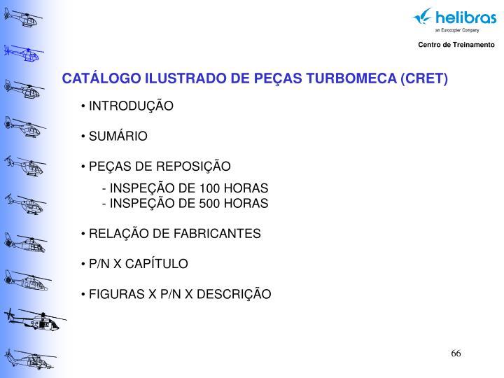 CATÁLOGO ILUSTRADO DE PEÇAS TURBOMECA (CRET)