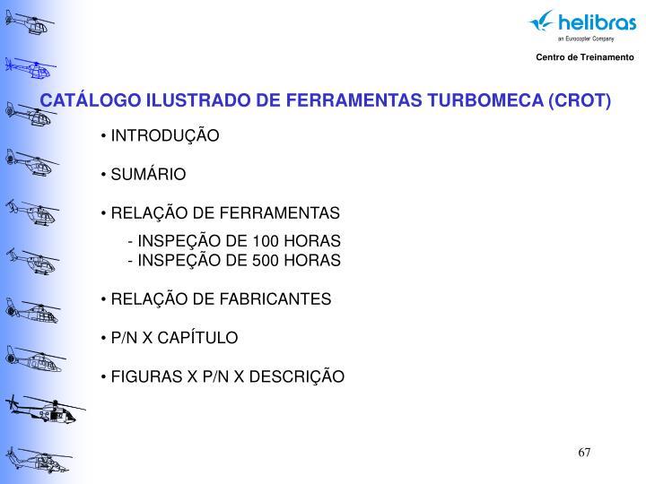 CATÁLOGO ILUSTRADO DE FERRAMENTAS TURBOMECA (CROT)