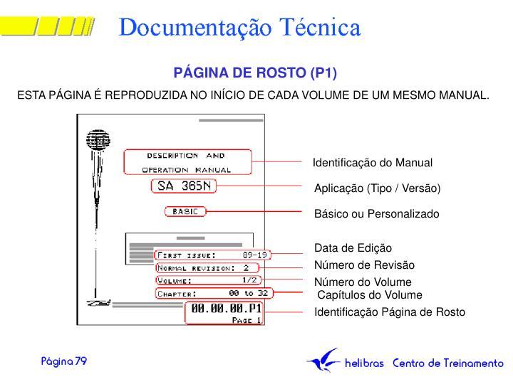 PÁGINA DE ROSTO (P1)