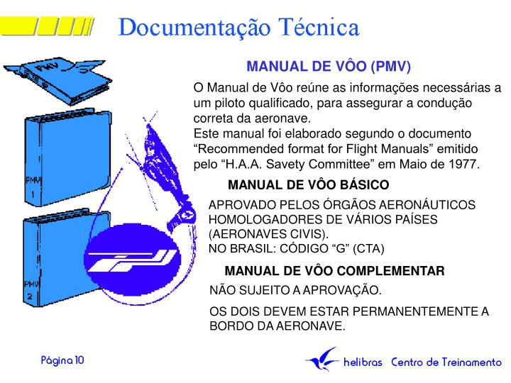 MANUAL DE VÔO (PMV)