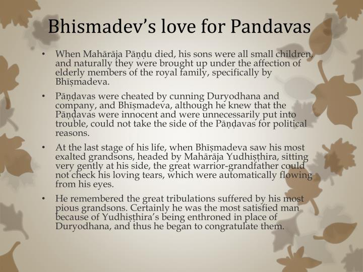 Bhismadev's