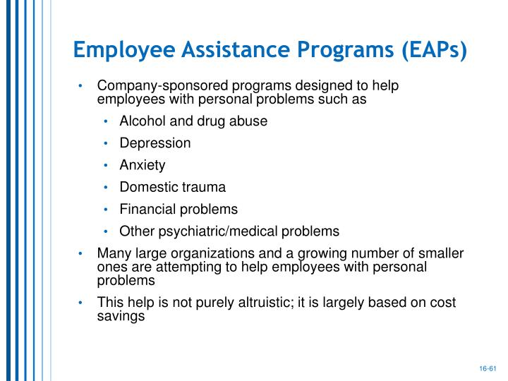 Employee Assistance Programs (EAPs)