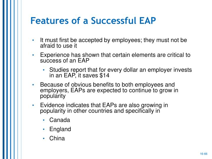 Features of a Successful EAP