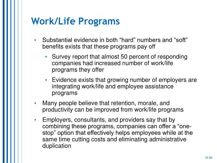 Work/Life Programs