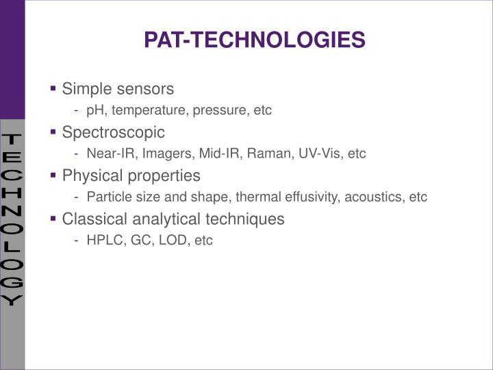 PAT-TECHNOLOGIES