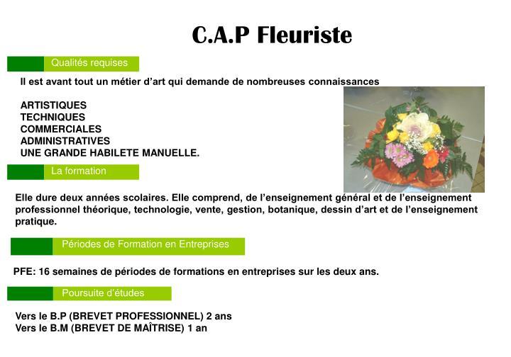 C.A.P Fleuriste
