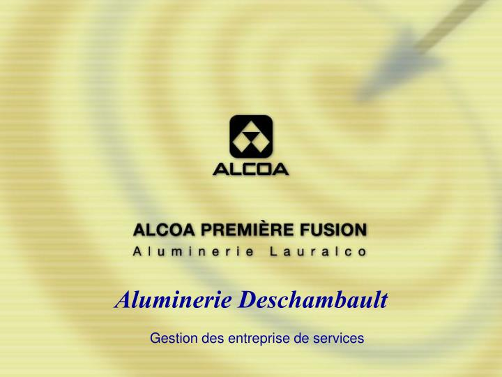 Aluminerie Deschambault