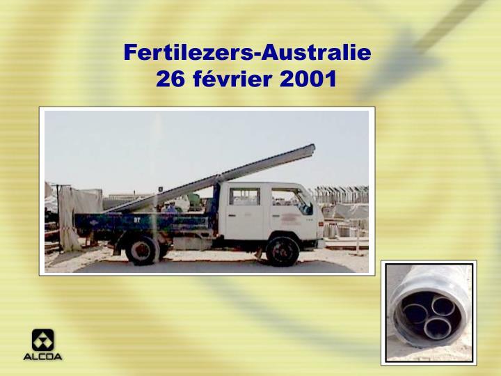 Fertilezers-Australie