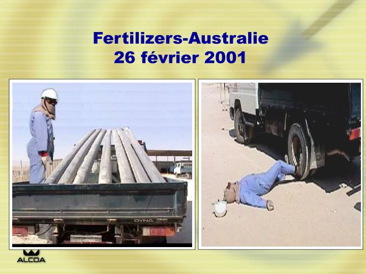 Fertilizers-Australie