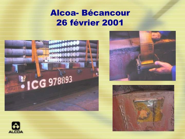Alcoa- Bécancour