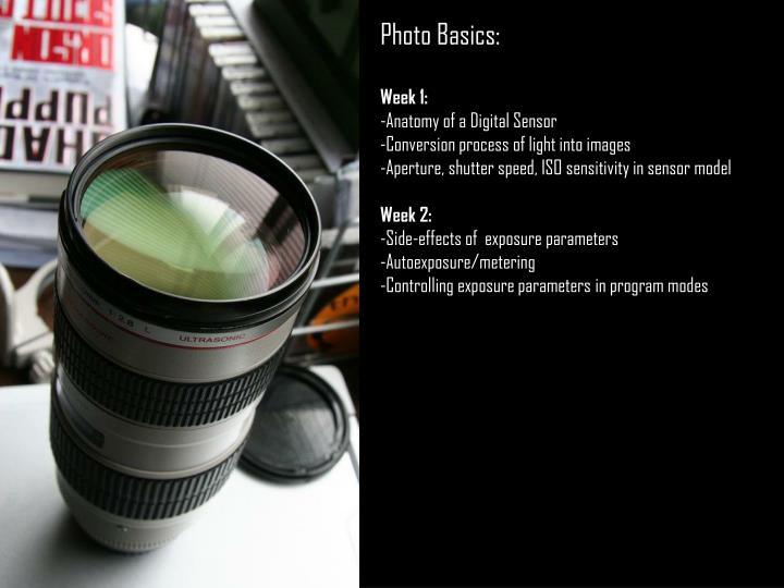 Photo Basics: