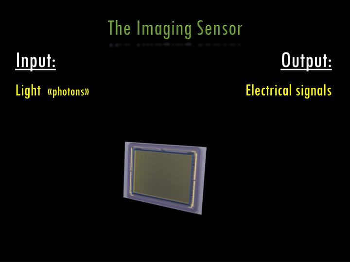 The Imaging Sensor