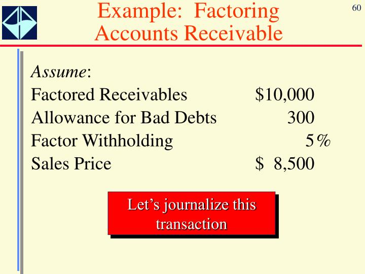 Example:  Factoring