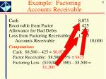 example factoring accounts receivable1