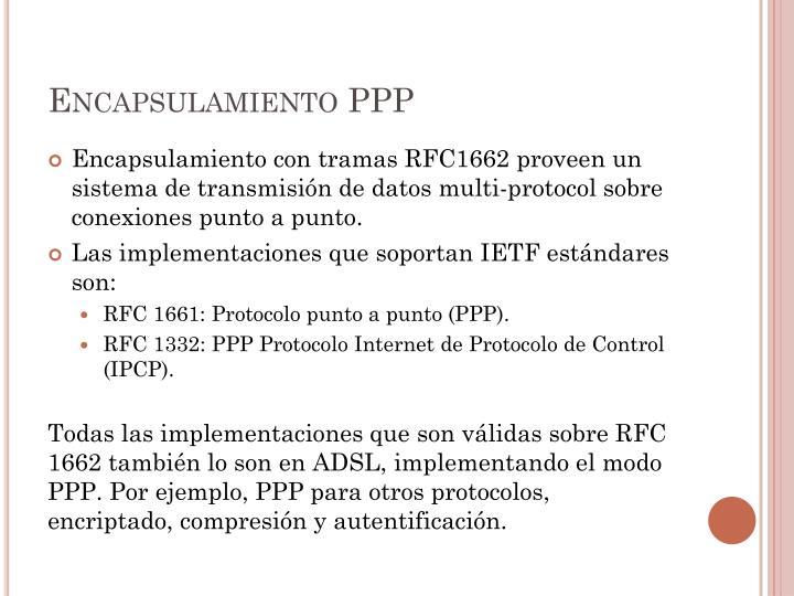 Encapsulamiento PPP
