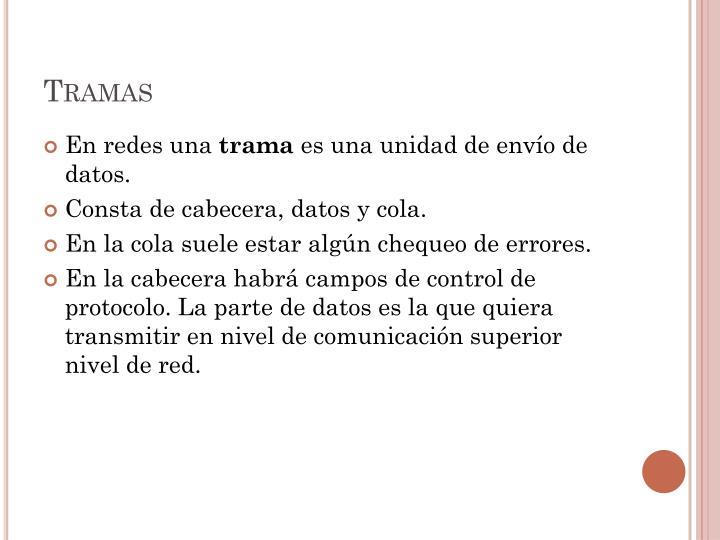 Tramas