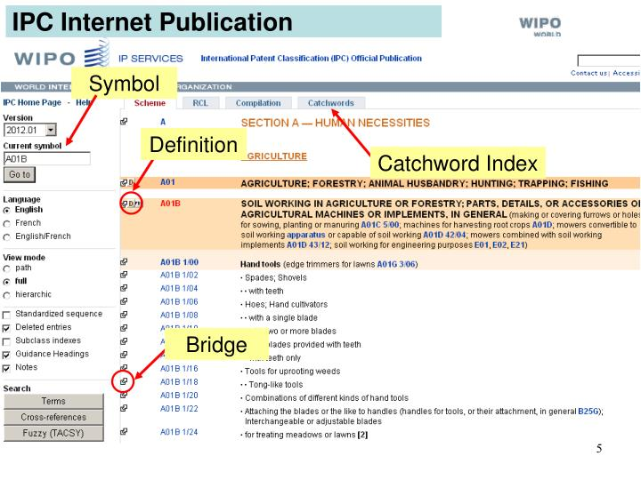 IPC Internet Publication