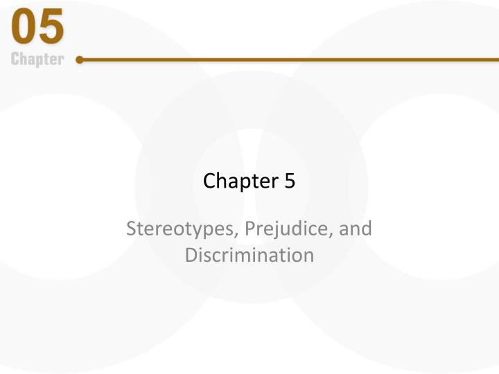 stereotypes and prejudice 7 essay