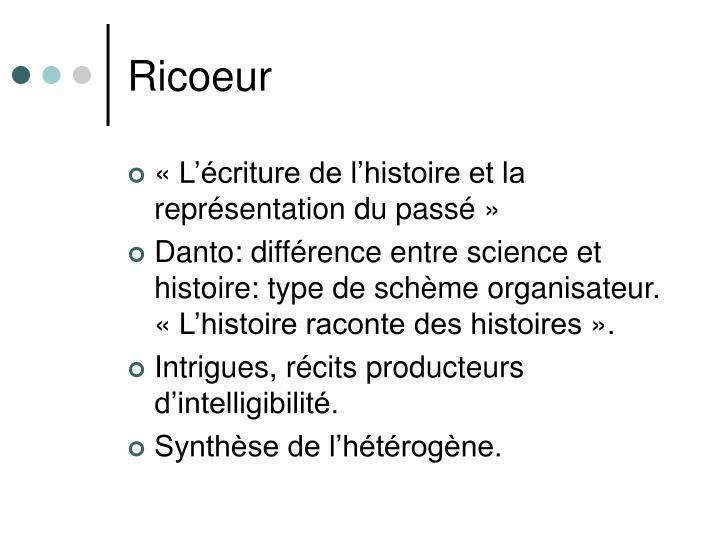 Ricoeur