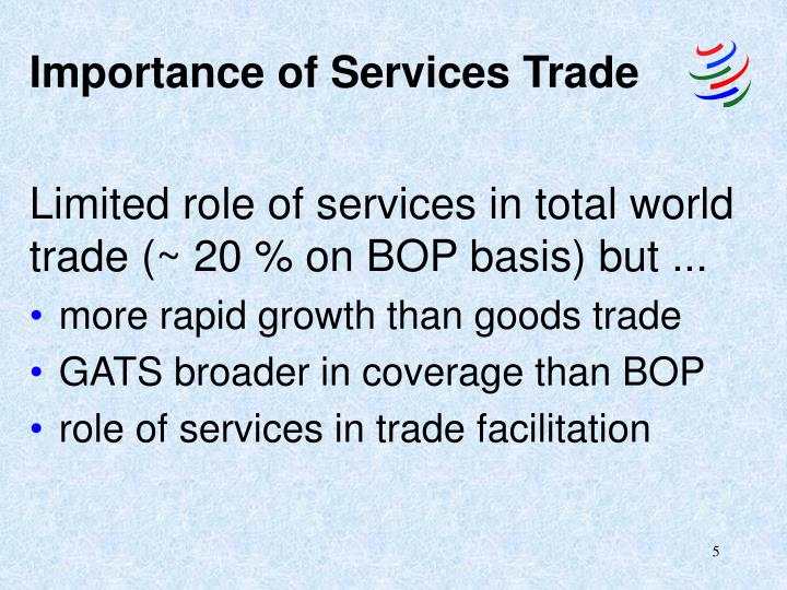 Importance of Services Trade