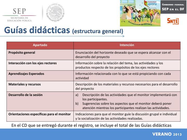 Guías didácticas