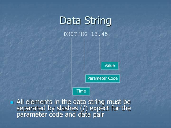 Data String