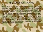 history of tanks2