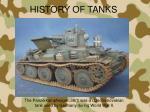 history of tanks3