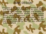 tank design1