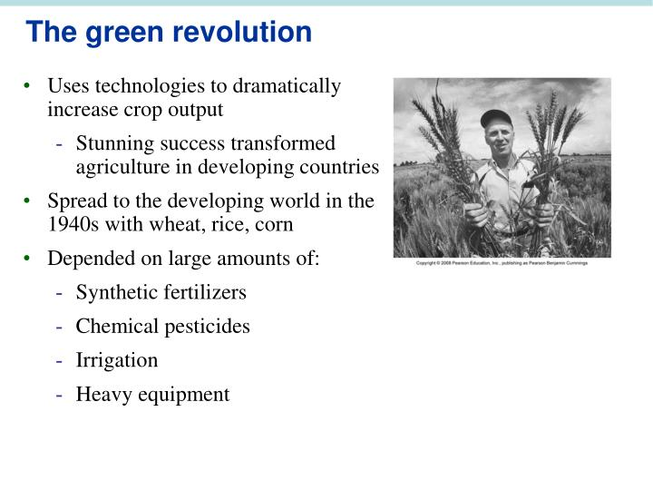 Uses technologies to dramatically increase crop output