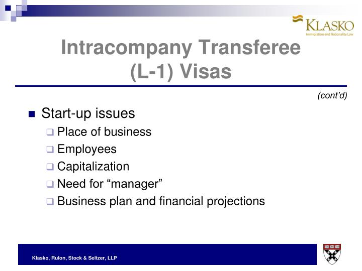 Intracompany Transferee