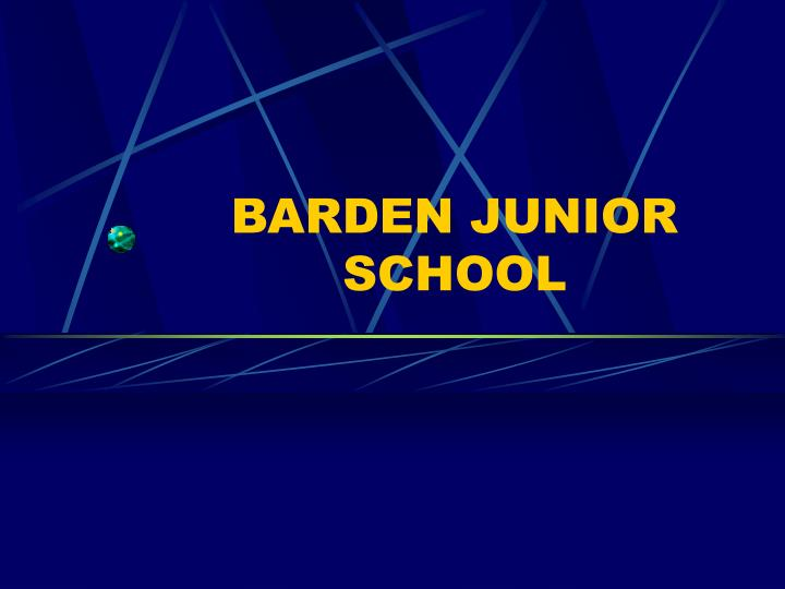 Barden junior school