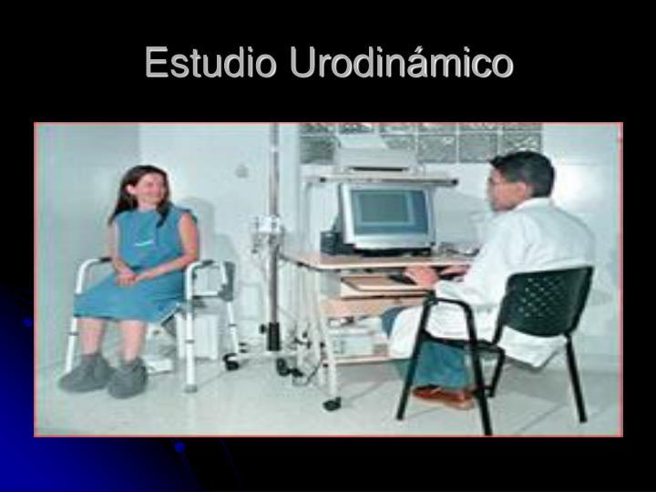 Estudio Urodinámico