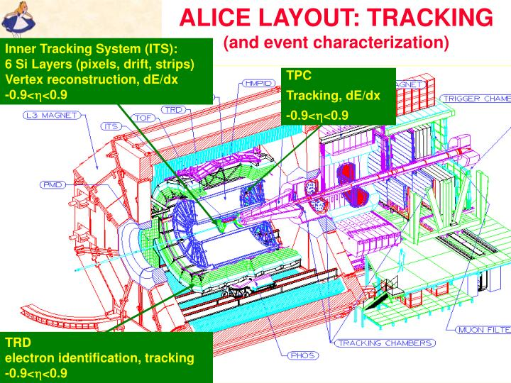 ALICE LAYOUT: TRACKING