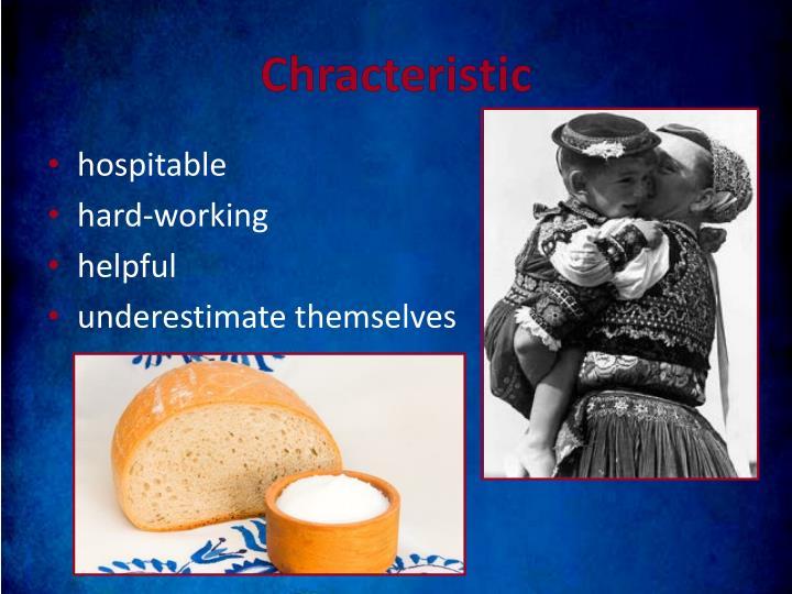 Chracteristic