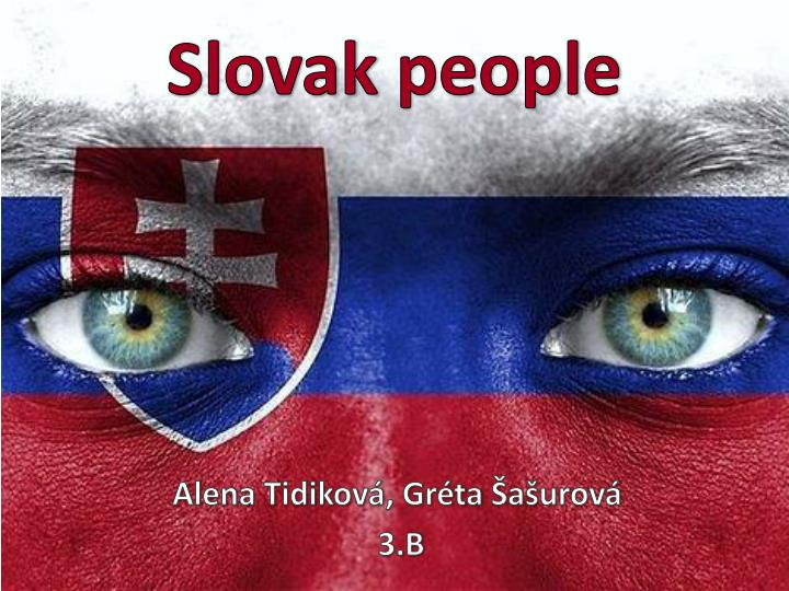 Slovak people