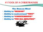 1 tool of a cybertracker1
