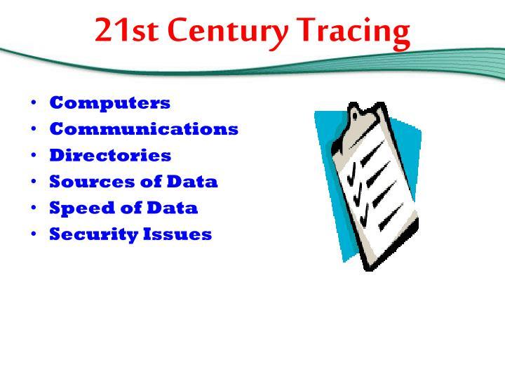 21st Century Tracing