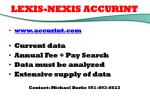 lexis nexis accurint