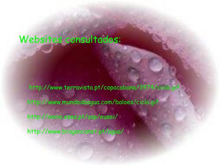 Websites consultados: