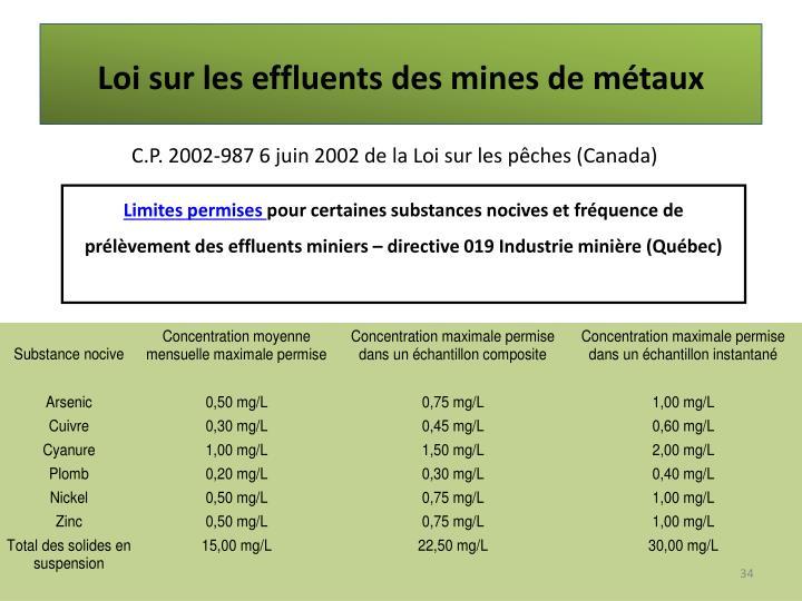 Ppt mines exploitation contamination powerpoint presentation id 2972323 - Loi sur les loyers fictifs ...